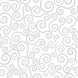 Swirl seamless pattern — Stockvektor