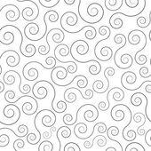 Swirl seamless pattern — Stock Vector