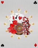 Objektet casino — Stockvektor
