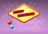 Las vegas christmas — Stock vektor