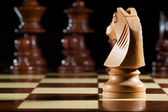 Xadrez de cavaleiro — Fotografia Stock