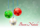 クリスマス イタリア語 — ストックベクタ