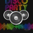 Disco party — Stock Vector