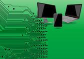 Tech apparaat — Stockvector
