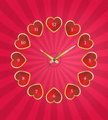 Time of love — Stock Vector