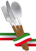 Coutellerie italien — Vecteur