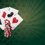Постер, плакат: Poker background