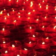 Royalty-Free Stock Photo: Red votive candles