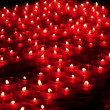 Red votive candles — Stock Photo #12445503
