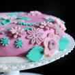 Stock Photo: Cake design, pink cake