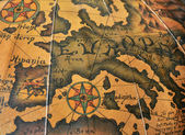 Old map of Europe — Stock Photo