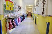 Kindergarten corridor — Stock Photo