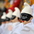 Pulcinella marionette — Stock Photo