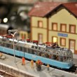 Stok fotoğraf: TRain model toy