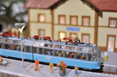 TRain model toy — Stock Photo