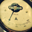 Analog ammeter — Stock Photo