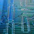Circuit board scheme  — Stock Photo