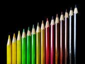 Color Pencil Crayons — Stock Photo