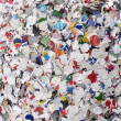Stock Photo: Paper confetti