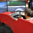 Постер, плакат: F1 driving simulator