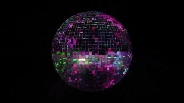Disco Mirror Ball Loop — Stock Video