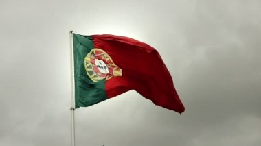 Portugal Flag — Stock Video