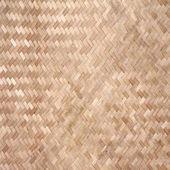 Fundo de cerca de bambu — Foto Stock