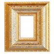 Vintage gold wood frame — Foto Stock #25506295