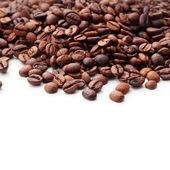 Coffee on white background — Stock Photo