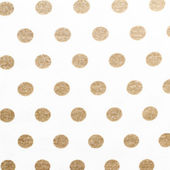 Fabric textile with dot pattern — Stock Photo