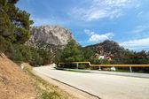 дорога в горах, крым — Стоковое фото