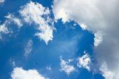 Cloudscape over blue sky — Stock Photo