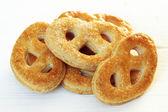 Pretzel cookies — Stock Photo
