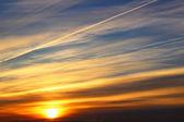 Sunset sky, Russia — Zdjęcie stockowe