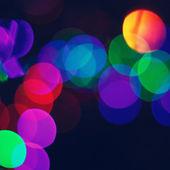 Blured město světel — Stock fotografie