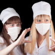 Stock Photo: Two nurses