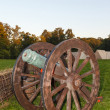 Old cast-iron cannon - Stockfoto