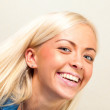 Beautiful young blonde girl — Stock Photo