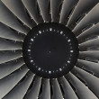 Jet engine passenger plane — Stock Photo #13858890