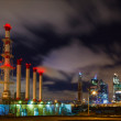 Stock Photo: Pipe plant at night