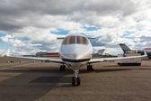 Jet privado reactivo blanco — Foto de Stock