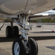 Front landing gear light aircraft — Stock Photo #20245313