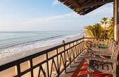 Villa dans un hôtel sur la mer — Photo