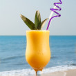 Royalty-Free Stock Photo: Pineapple and mango juice