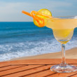 Stock Photo: Daiquiri cocktail with ice