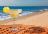 Daiquiri cocktail con ghiaccio — Foto Stock