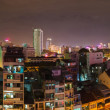 Stock Photo: Saigon panoramof city at night