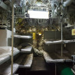 Stock Photo: Aft compartment submarines