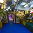 Stock Photo: Engine compartment submarines