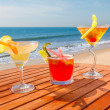 Alcohol cocktails — Stock Photo #25919255